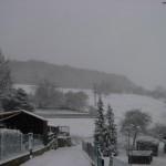 Wanderung durch den Schnee