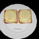 Lecker Mittagessen – Toast Hawaii