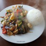 Gebratenes asiatisches Gemüse