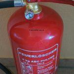 6 kg Feuerlöscher – ABC Pulverlöscher