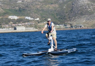 Water Biking in Simons Town