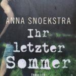 Anna Snoekstra – Ihr letzter Sommer