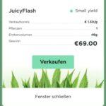 1. Auszahlung bei der Juicyfields Cannabis Plattform