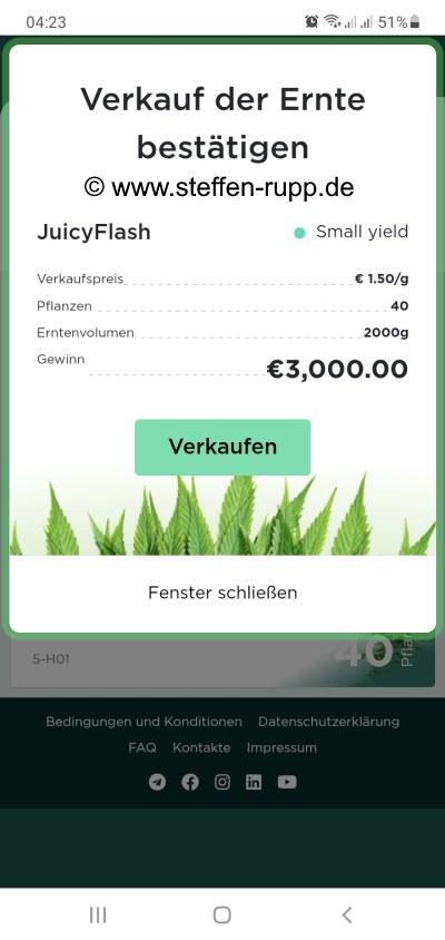Juicyfields 3000 Euro Auszahlung 3